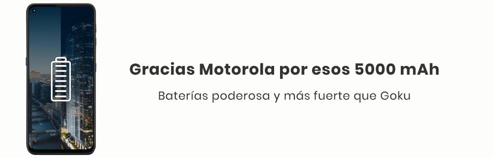 El Motorola G9 Plus cuenta con una batería monstruosa, para que puedas vivir la vida al límite sin preocuparte por no tener batería, ya que te dará hasta 2 días con una sola carga, ¡Gracias Motorola por esos 5000 mAh!></p><br/><br></div><div id=
