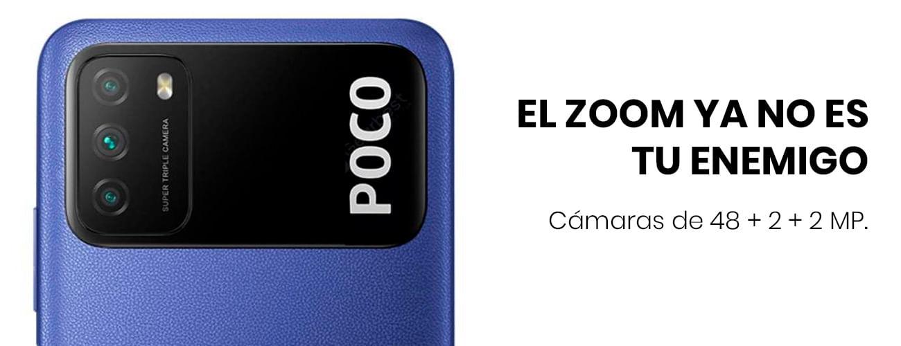 El Xiaomi Pocophone M3  con una cámara de 48+2+2mp