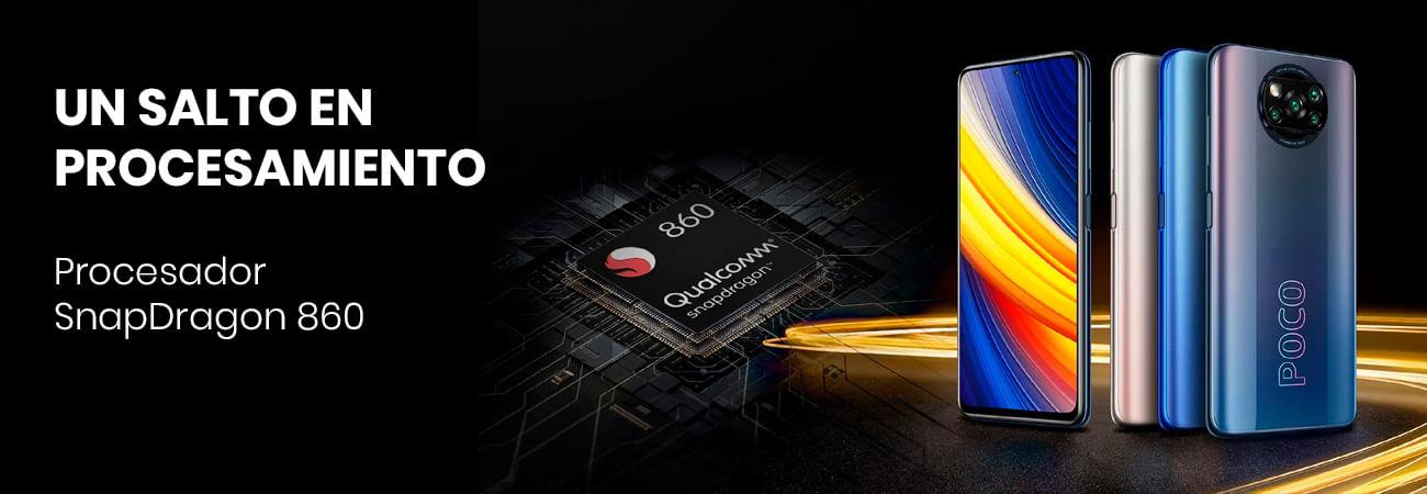 El Poco X3 Pro viene con el chipset SnapDragon 860