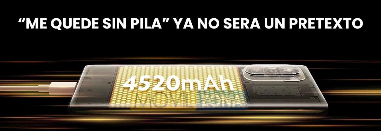 El Xioami Pocophone F3 tiene una batería de 4520 mAh