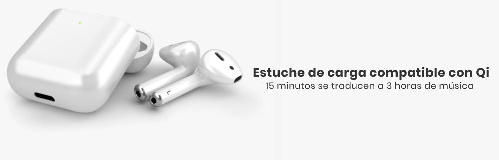 Los Apple AirPods 2  poseen un estuche mejorado, el cual posee la función de carga inalámbrica, para que así solo guardes tus audífonos en él