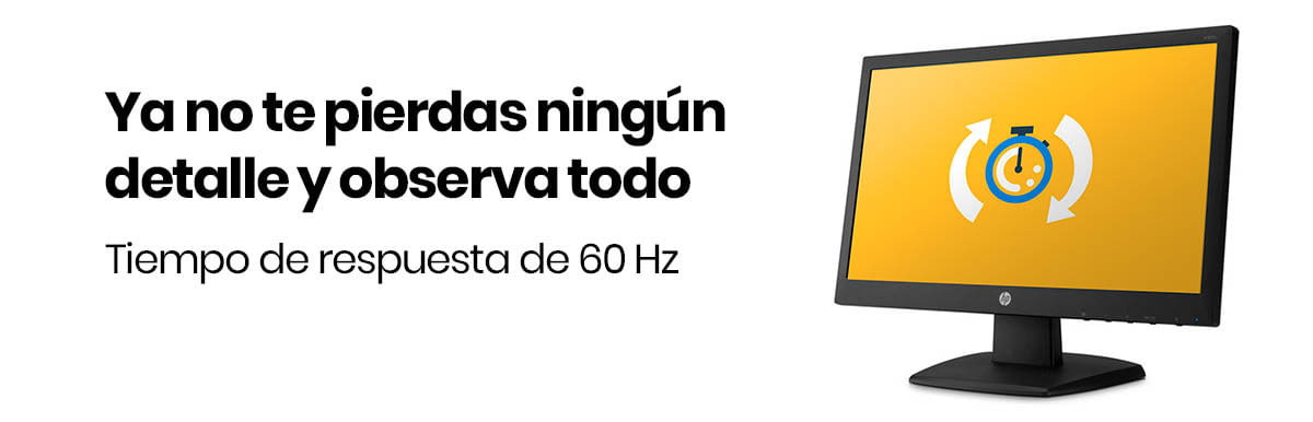 El Monitor HP LED V194 HD 18.5