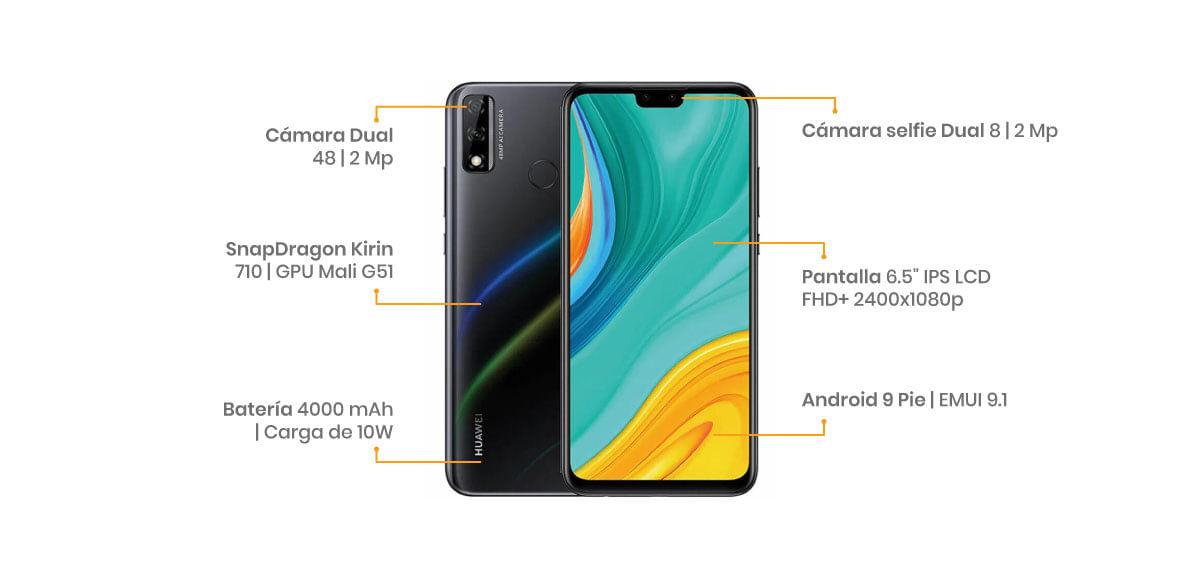 Huawei Y8s características, specs, especificaciones
