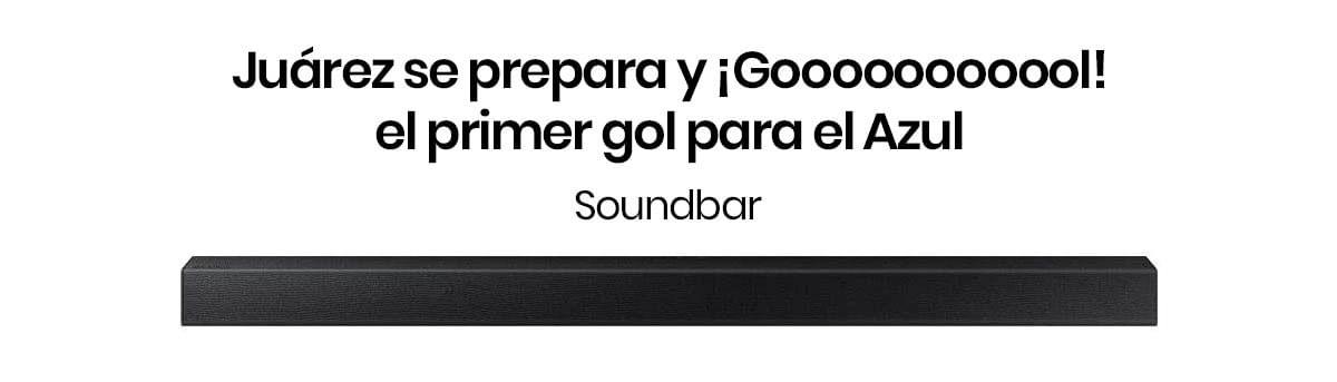 Con la Barra de Sonido Samsung HW  tendrás el mejor audio, ya que soundbar analiza las fuentes de sonido y optimiza la pista de acuerdo al contenido