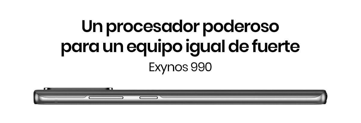El Samsung Galaxy Note 20 cuenta con un procesador inteligente, el Exynos 990, sistema de enfriamiento y una pantalla perfecta para ponerte en la delantera