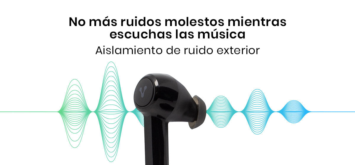 Los Audífonos Vorago ESB-600 Plus Premium Bluetooth cuentan con doble micrófono y un sistema de aislamiento de ruido para llamadas claras y nítidas