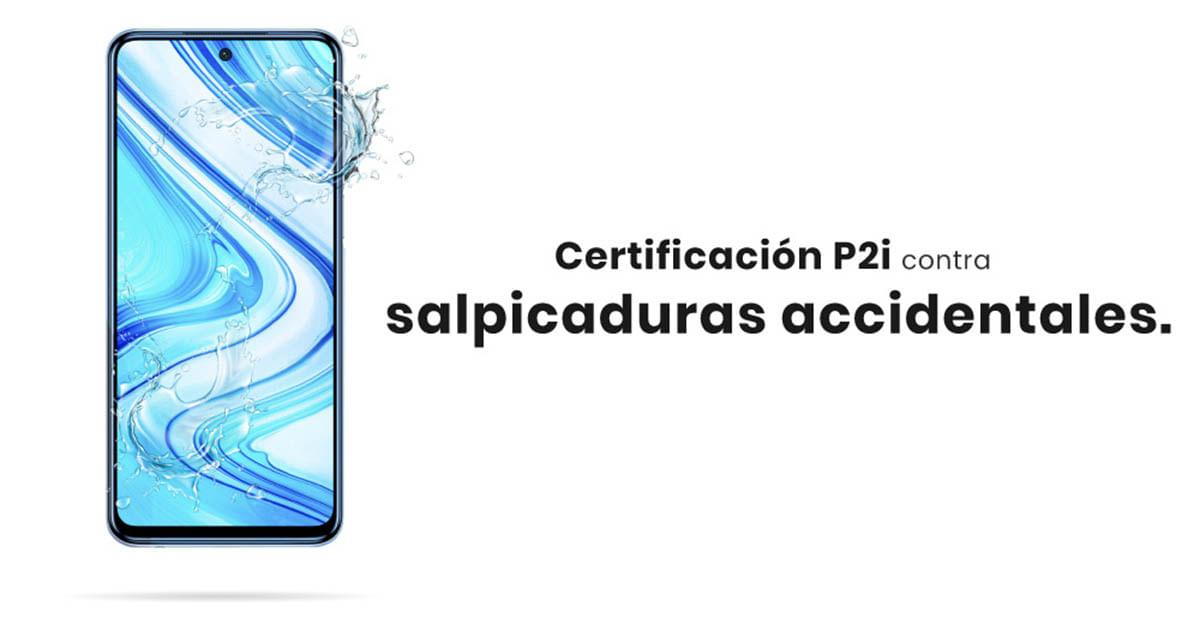 El Xiaomi Redmi Note 9S cuenta con certificación P2i